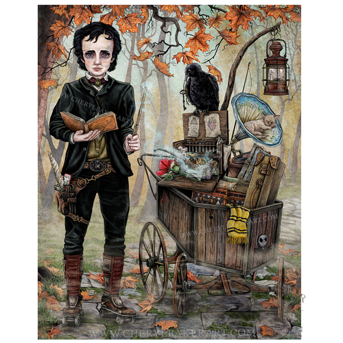 Baker - Magical School Series: Edgar Allen Poe Goes To A Magical School