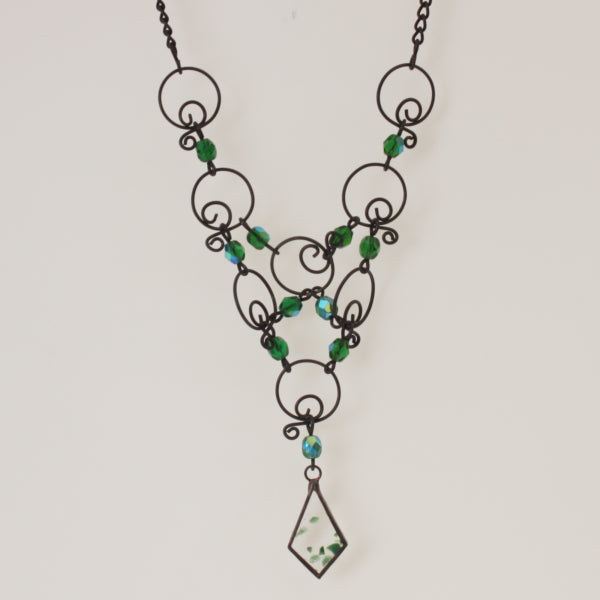 Hejtmanek - Necklace Green