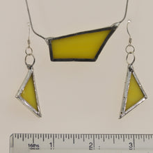 Load image into Gallery viewer, Bohn - Earring-Necklace Set Yellow
