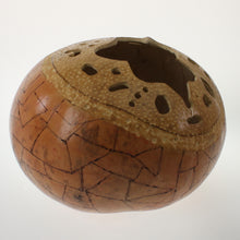 Load image into Gallery viewer, Vasquez - Carved Gourd Natural
