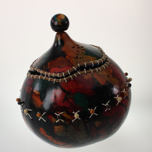 Vasquez - Carved Gourd Multicolor
