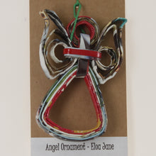 Load image into Gallery viewer, Pereira - Angel Ornament Red-Green