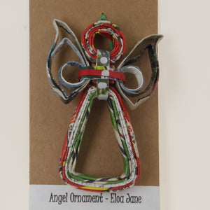 Pereira - Angel Ornament Red-Green