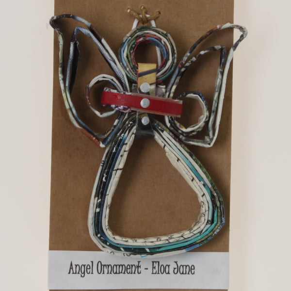 Pereira - Angel Ornament Red-Blue