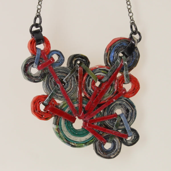 Pereira - Necklace Red-Green
