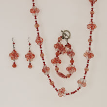 Load image into Gallery viewer, Belcher - Necklace Set Red-Coral