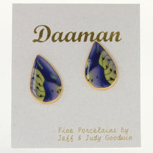Load image into Gallery viewer, Goodwin - Earrings Cobalt-Green
