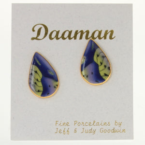 Goodwin - Earrings Cobalt-Green