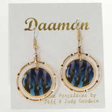 Load image into Gallery viewer, Goodwin - Earrings Cobalt-Oynx