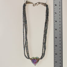 Load image into Gallery viewer, Dolan & Fuller - Necklace Irridized Grey