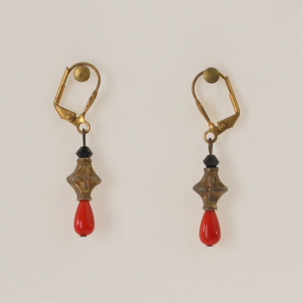 Dolan & Fuller - Earrings Gold-Orange