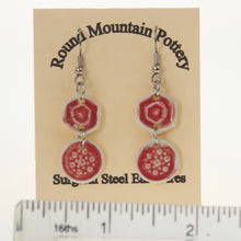 Load image into Gallery viewer, Munson - Earrings Crimson Red