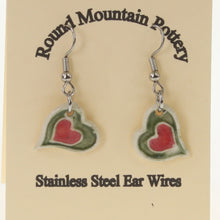 Load image into Gallery viewer, Munson - Earrings Olive-Red