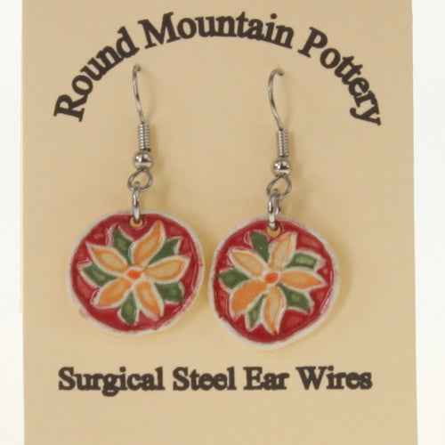 Munson - Earrings Crimson-Peach