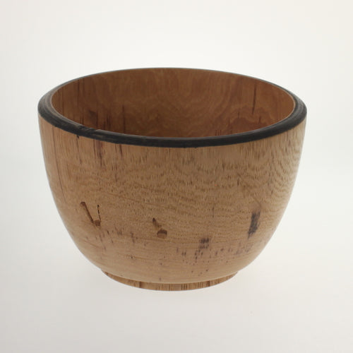 Duell - Turned Hackberry Bowl Natural Hackberry