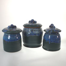 Load image into Gallery viewer, Miller - Cannister Set Of 3 Takisho-Cobalt