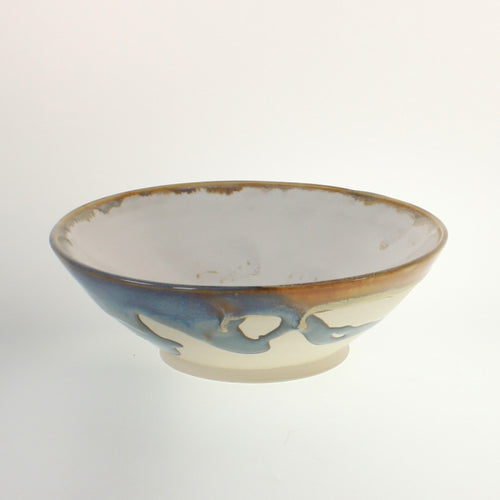 Metzger - Bowl Earthtone Blue/White