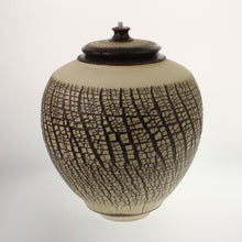 Load image into Gallery viewer, Powell - Urn With Oil Lamp Espresso Crackled Cream