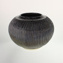 Load image into Gallery viewer, Powell - Wide Mouth Vase Black Magic