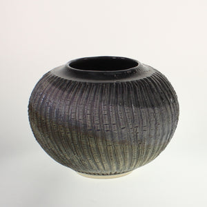 Powell - Wide Mouth Vase Black Magic