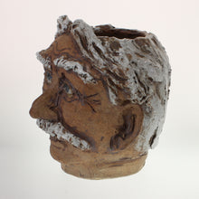 "Load image into Gallery viewer, Lorenzen - ""Mark"" Face Vase Earthenware"