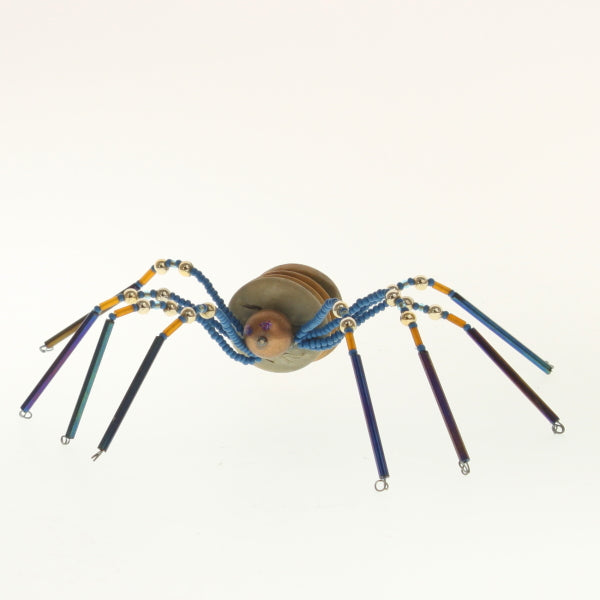 Red Star - Christmas Spider Cobalt-Sand