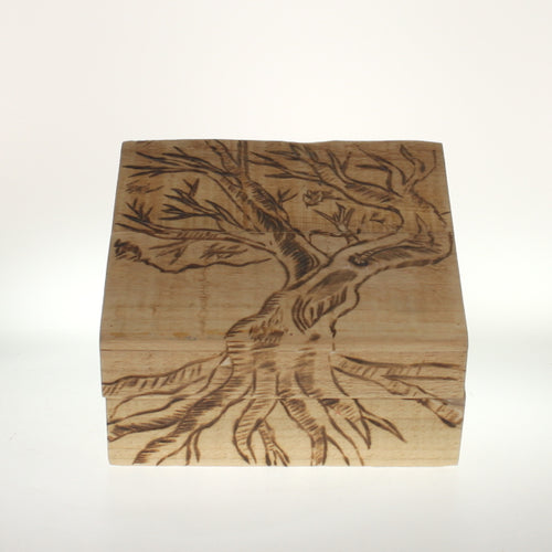 Roomsburg-Decorative Box-Natural Wood