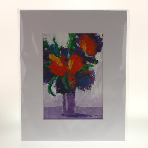 Stinebaugh - Acrylic Flower Painting Multicolor