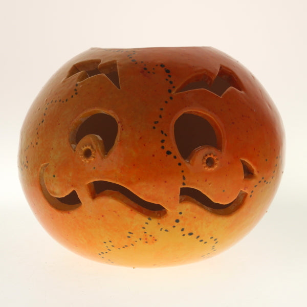 Hutchison - Candle Holder Orange