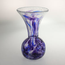Load image into Gallery viewer, Carter- Bulb Vase Bubble Blue and Purple