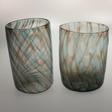 Load image into Gallery viewer, Carter - Tumbler Set 2 Blue Brown