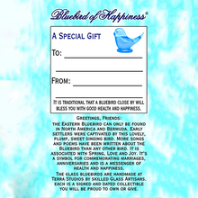 Load image into Gallery viewer, Bluebird of Happiness®  – Adult
