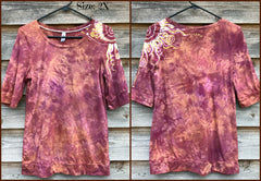 Sunshine On My Shoulders Sale Basket Batik Top