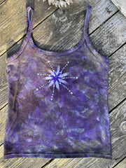 Purple Sage Moonbeams Batikwalla Tank Top Tops batikwalla
