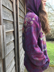 Sunrise Sunset Handmade Organic Cotton Batikwalla Hoodie