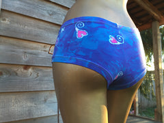Blue Crush Batik Boyshorts - Batikwalla   - 4