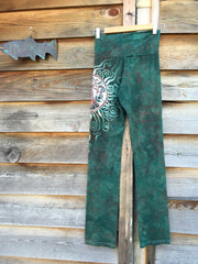 Sage Tree of Life Batik Yoga Pants - Batikwalla   - 3