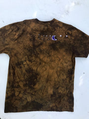 Sunshine Gold and Purple Tree Handmade Batikwalla Tshirt - Size 2X