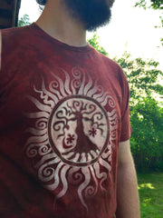 Tree of Life Organic Batik Imperfect Tshirt - Batikwalla   - 3