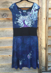 Blue River Batik Organic Cotton Hemp Summer Dress - Batikwalla   - 1