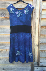 Blue River Batik Organic Cotton Hemp Summer Dress - Batikwalla   - 2