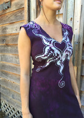 Untethered Love Medallion Organic Cotton Batik Dress - Batikwalla   - 2