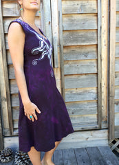 Untethered Love Medallion Organic Cotton Batik Dress - Batikwalla   - 7
