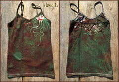 The Earth is Magic Batik Stretchy Camisole - Batikwalla   - 7