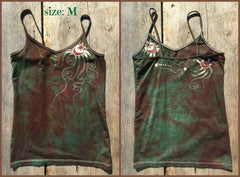 The Earth is Magic Batik Stretchy Camisole - Batikwalla   - 6