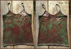 The Earth is Magic Batik Stretchy Camisole - Batikwalla   - 8
