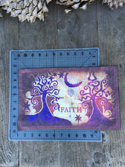 Faith and Trees Batik Print Patch - Batikwalla   - 4