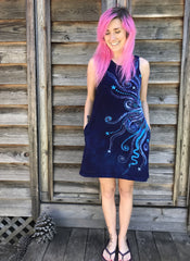 Om Persuasion Summer Dress Batik Dresses Batikwalla by Victoria