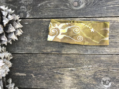 Fold Over Stellar Handmade Headband - by Batikwalla Batikwalla by Victoria sand and sunshine