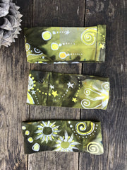 Dandelion Tea Fold Over Headband - by Batikwalla Batikwalla by Victoria